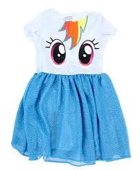 my pony rainbow dash toddler dress clothing
