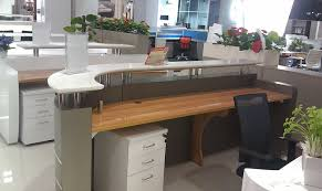 Marble Reception Desk Hospital Dental Center Clinic Curved Marble Reception Desk Counter