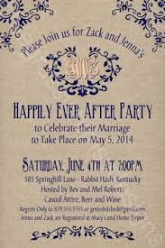 after the wedding party invitations after the wedding party invitations or elopement party invitations