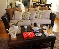 how to make beautiful living room coffee table decoration