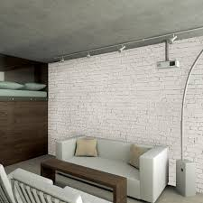 1 wall murals wake up your walls touch of modern white loft brick wall