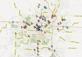 columbia missouri map gun crime on the rise in columbia