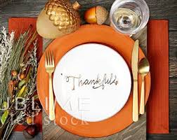 thanksgiving table etsy