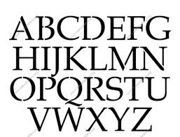 french headline made to order custom stencils stencil letters org