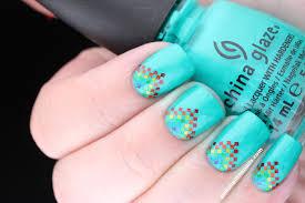 nail art a is for aztec rainbow kinda aztec nails