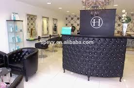 tufted salon reception desk spevy morden tufted reception desk buy white reception desk salon