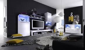 Wohnzimmerschrank Beleuchtung Trendteam Pu Sideboard Kommode Wohnzimmerschrank Weiß Glanz 141