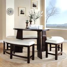 Kitchen Tables With Bench Seating And Chairs by Dining Table Round Dining Table With Leaf And Chairs Round