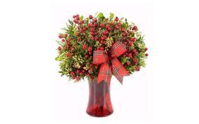 christmas flower arrangements top 10 best christmas flower arrangements 2017 heavy