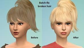 sims 3 custom content hair sims 4 studio
