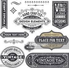 vintage design vintage design elements vector getty images