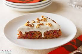 cranberry carrot cake from vegan holiday kitchen recipe from