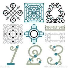 24 best cartridge ornamental iron 2 images on cricut