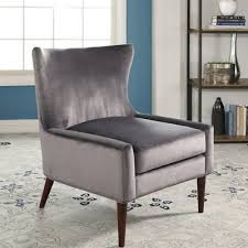 Blue Velvet Wingback Chair Blue Wing Chair Browse And Shop For Blue Wing Chair At Www