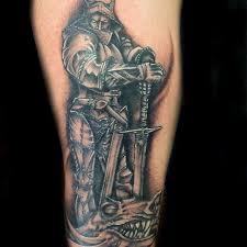 tattoo tribal na perna masculina 50 tatuagens de são jorge impressionantes