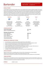 Example Bartender Resume by 188 Best Bar Ideas For Work Images On Pinterest Bar Ideas
