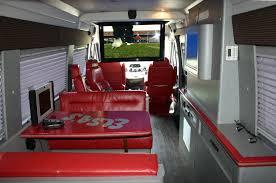 Conversion Van Interiors Osu Buckeyes Custom Tailgate Van