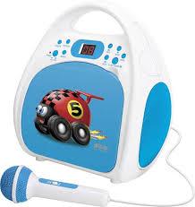 cd player für kinderzimmer schneider one play cd player für kinder blau cd cd r radio