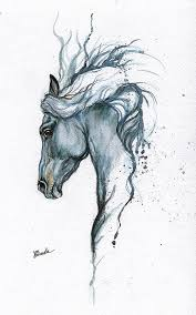tattoo pictures horse horse potrait tattoo design equine art equestrian framed