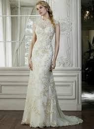 wedding dress high gold lace wedding dress naf dresses