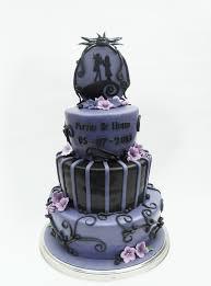 nightmare before christmas wedding cake tim burton cakes and