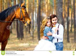 wedding in country style in the woods stock photo image 71126443