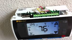 part 3 install 3m50 filtrete wi fi thermostat youtube