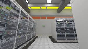 data center server room rendefarm hi tech cluster storage system