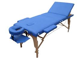 used portable massage table for sale 3 section round corner best sales adjustable wooden eco cheap