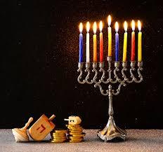 hanukkah celebration at stanford shopping center
