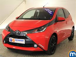 red toyota used toyota aygo red for sale motors co uk