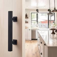 black cast iron kitchen cabinet handles upgrade barn door handle 12 sliding barn door hardware