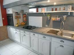 les meubles de cuisine meuble de cuisine rustique relooking cuisine chene repeindre