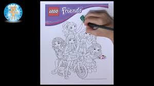 lego friends coloring page prismacolor premier colored