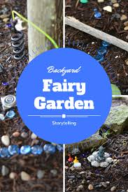 backyard fairy garden storytelling