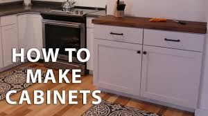 diy simple kitchen cabinet doors how to make diy kitchen cabinets