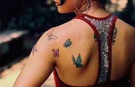 61 fantastic butterfly shoulder tattoos