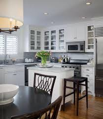 amazing ideas optimize your corner kitchen sets chloeelan charming corner kitchen set design with round pendant lamp above dining table also white marble