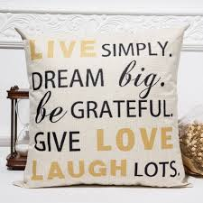 live laugh love home decor buy pillow decor live laugh love and get free shipping on