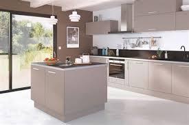 cuisine blanche et noir table de cuisine blanche 6 meuble de cuisine kadral blanc et