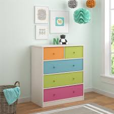 Kids Bedroom Dresser by Cosco Applegate 5 Drawer White Dresser 5885218pcom The Home Depot