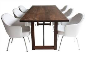 mid century dining room table modern dining table 0116 contemporary industrial transitional