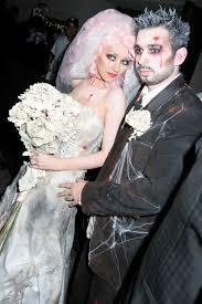 Halloween Bride Groom Costumes Celebrity Halloween Costumes 3