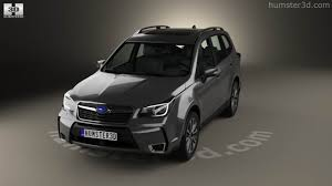 subaru forester xt 2016 360 view of subaru forester xt touring 2016 3d model hum3d store