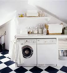 apartment furniture utilize attic room design for small laundry