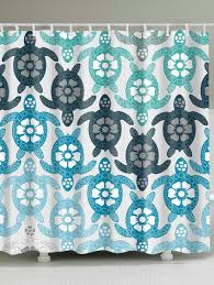 eco friendly tortoise extra long shower curtain colormix w inch