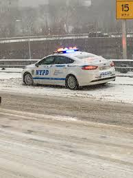 nypd ford fusion nypd ford fusion on bridge 12 17 2016 ford