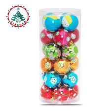 Theme Ornaments Inhoo Decor 24pc Multicolor Theme Pack Ornaments For Tree Decor