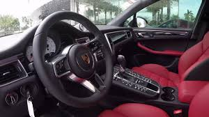 porsche macan 2016 jet black porsche macan turbo 400 hp porsche west broward
