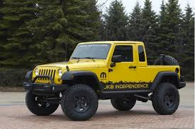 jeep truck conversion you still can t buy a jeep wrangler pickup but you can build one